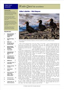 Wader Quest Newsletter - January 2015